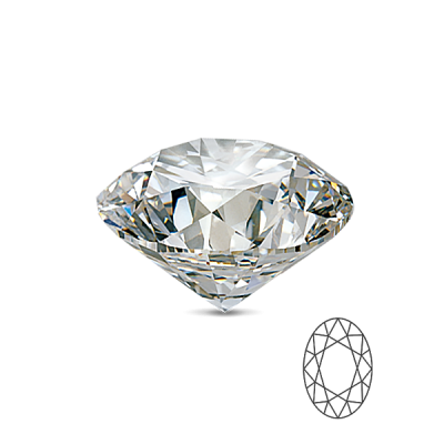 Beli Safir 8×6 Oval cut